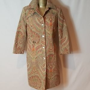 STEPHANIE SCHAICH PRINTED COAT